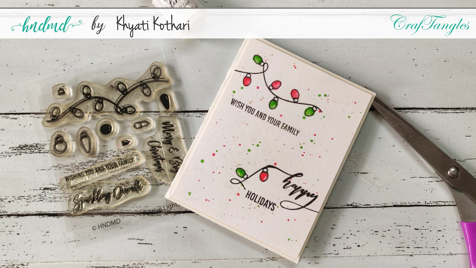 DIY Quick and Easy CAS Festive Cards with video tutorial 4