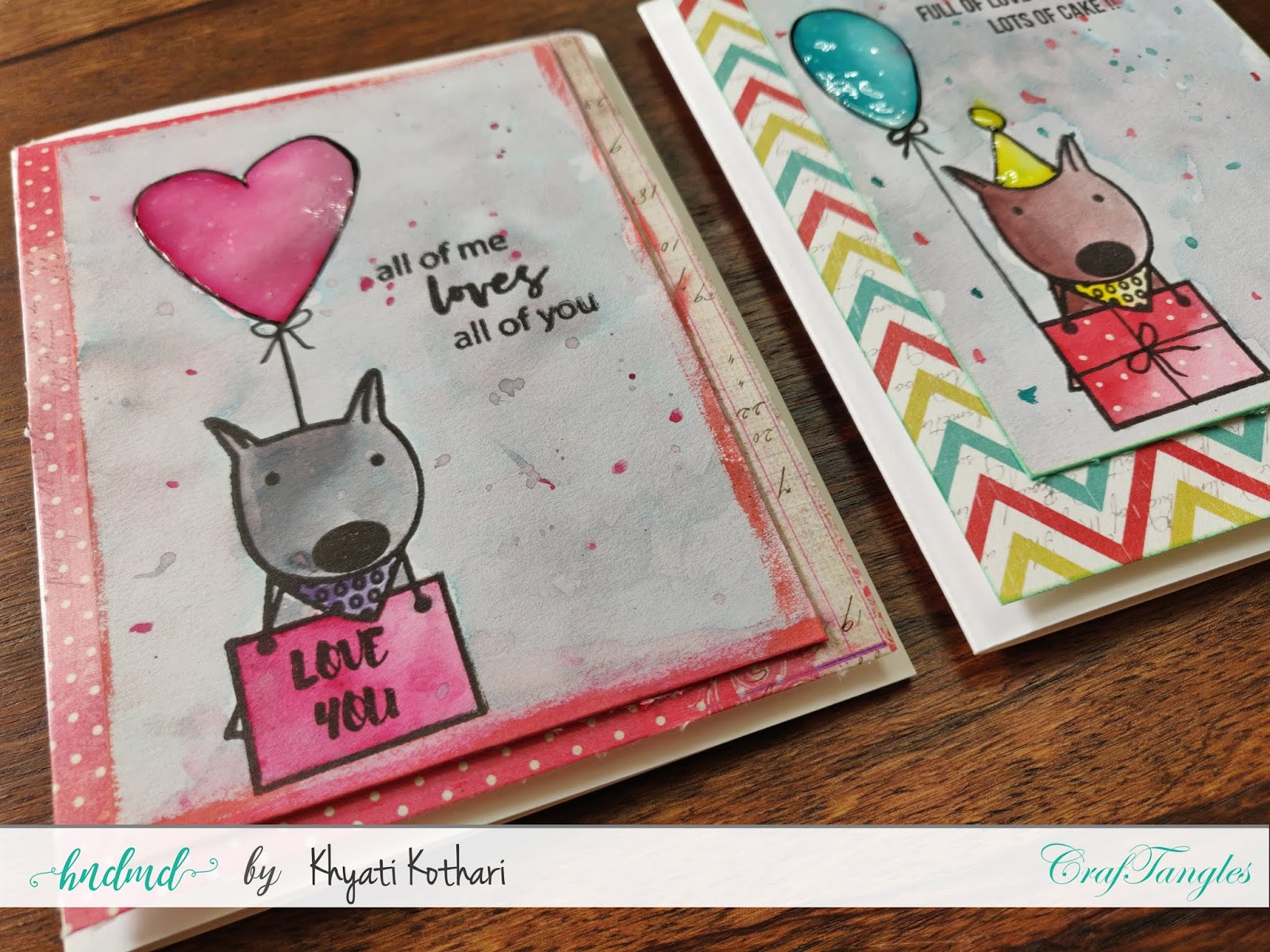 How to Stretch your stamps - Cardmaking video tutorial 2