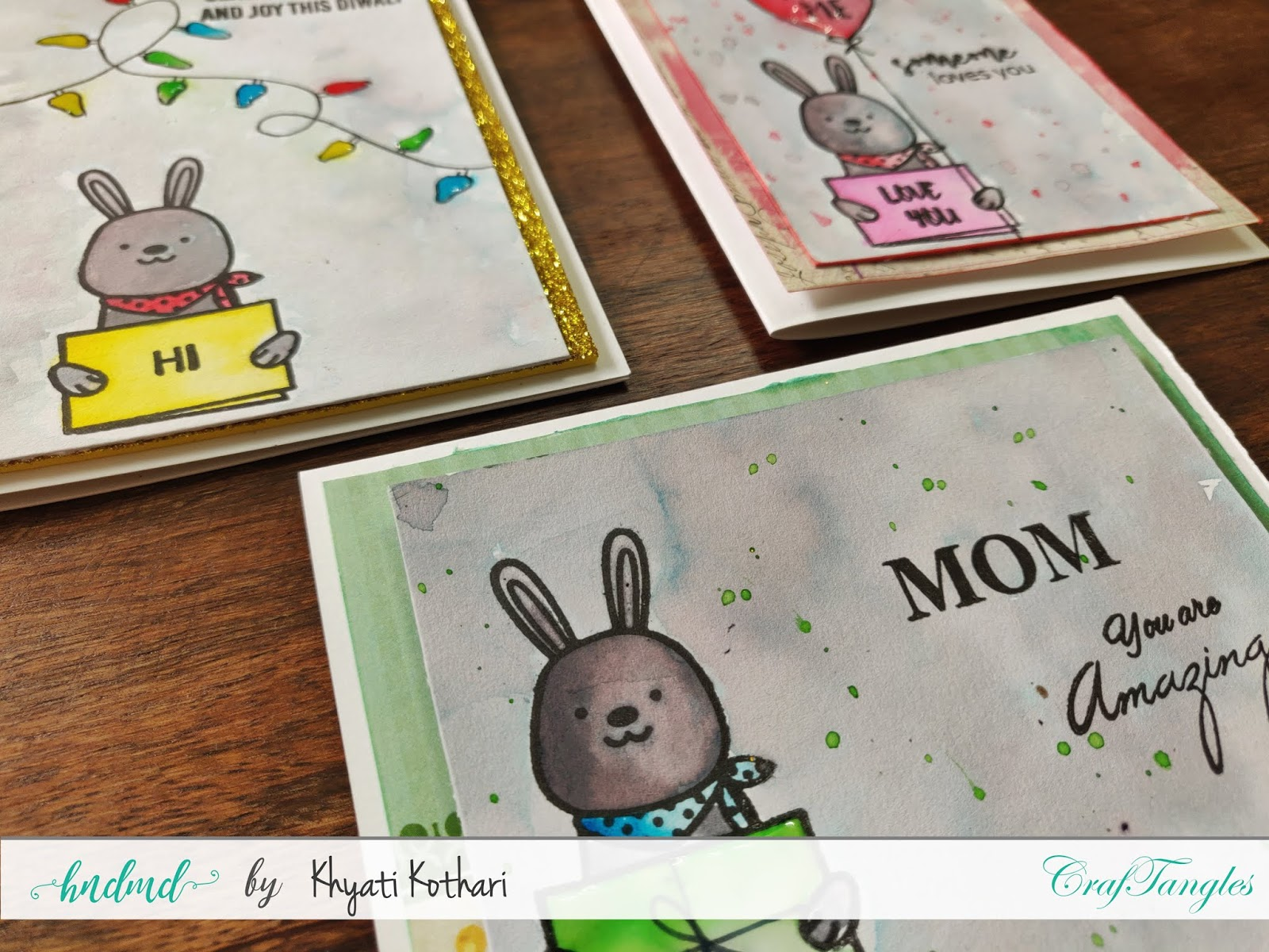 How to Stretch your stamps - Cardmaking video tutorial 3