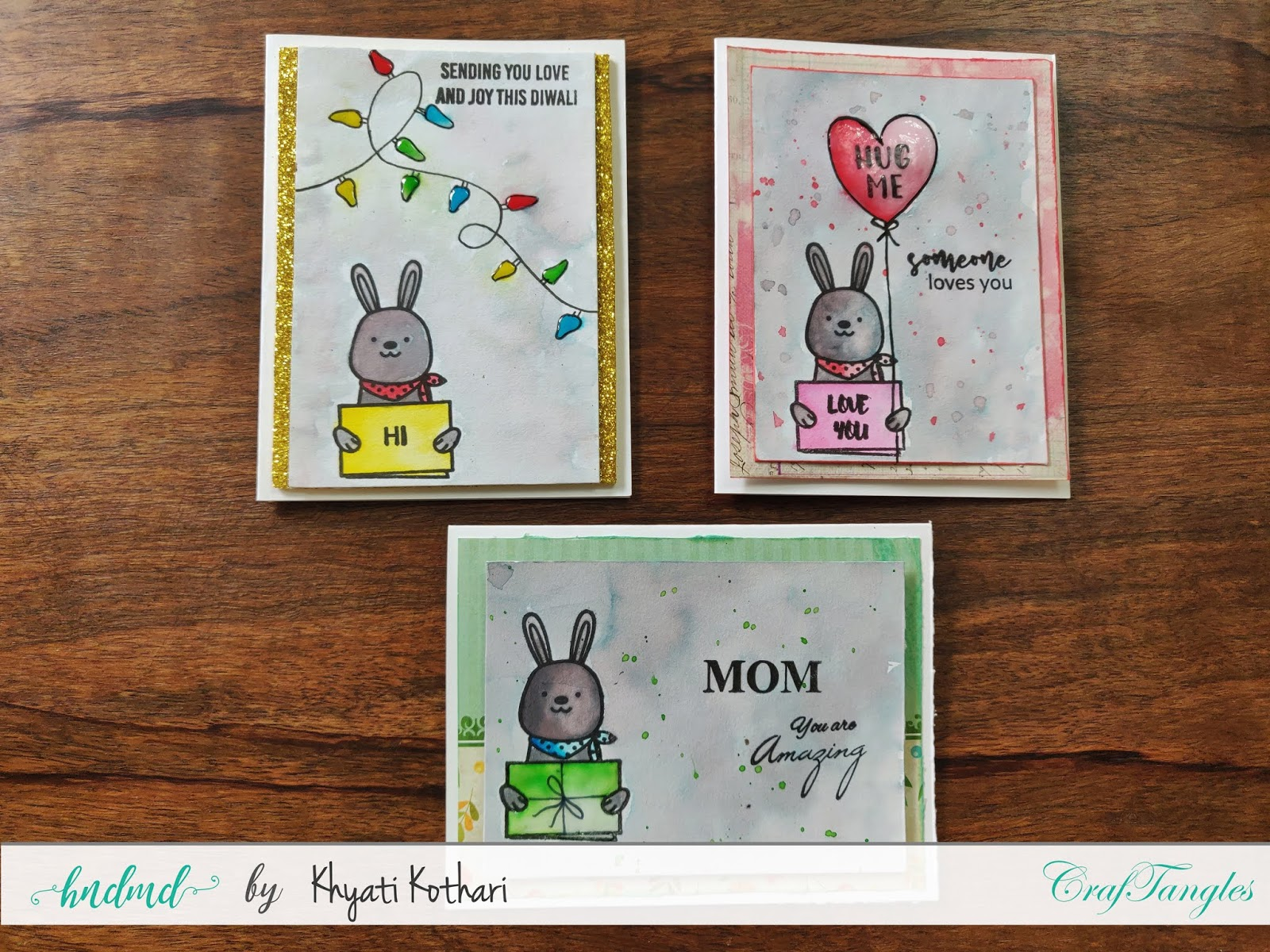 How to Stretch your stamps - Cardmaking video tutorial 6