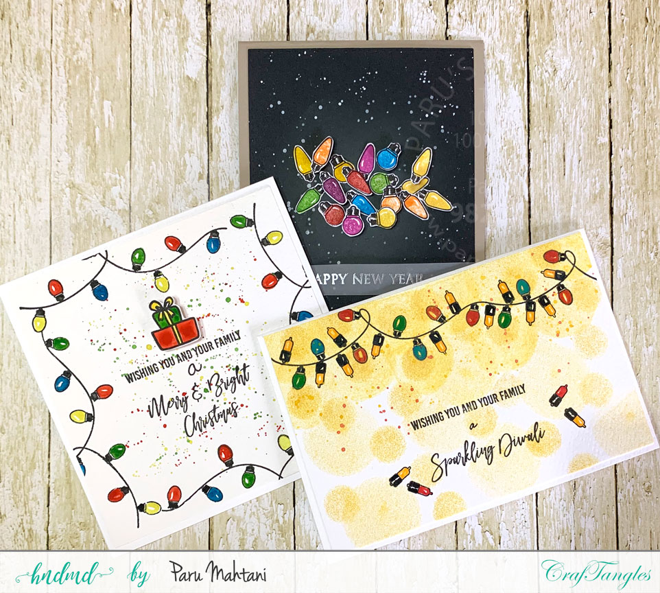 Festive Lights-new from Craftangles. 2