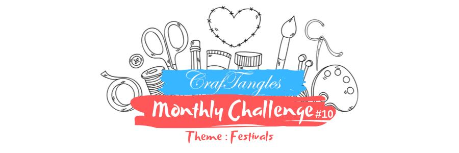 "Craftangles Monthly challenge #10 'Festivals"" 1"