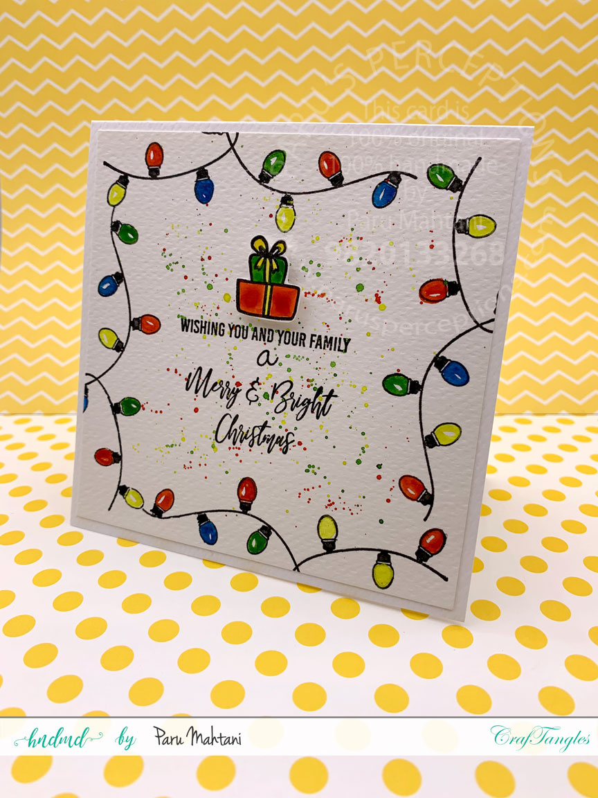 Festive Lights-new from Craftangles. 5