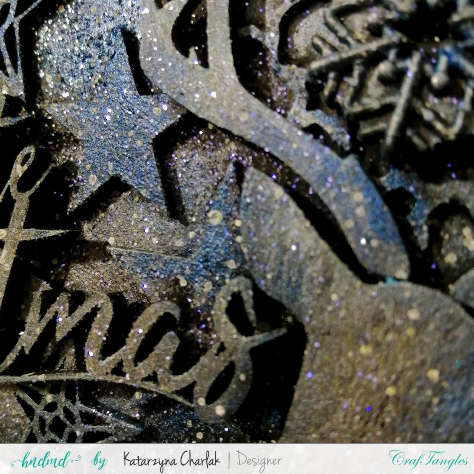 Winter pendant with deer by Katarzyna Charlak 3