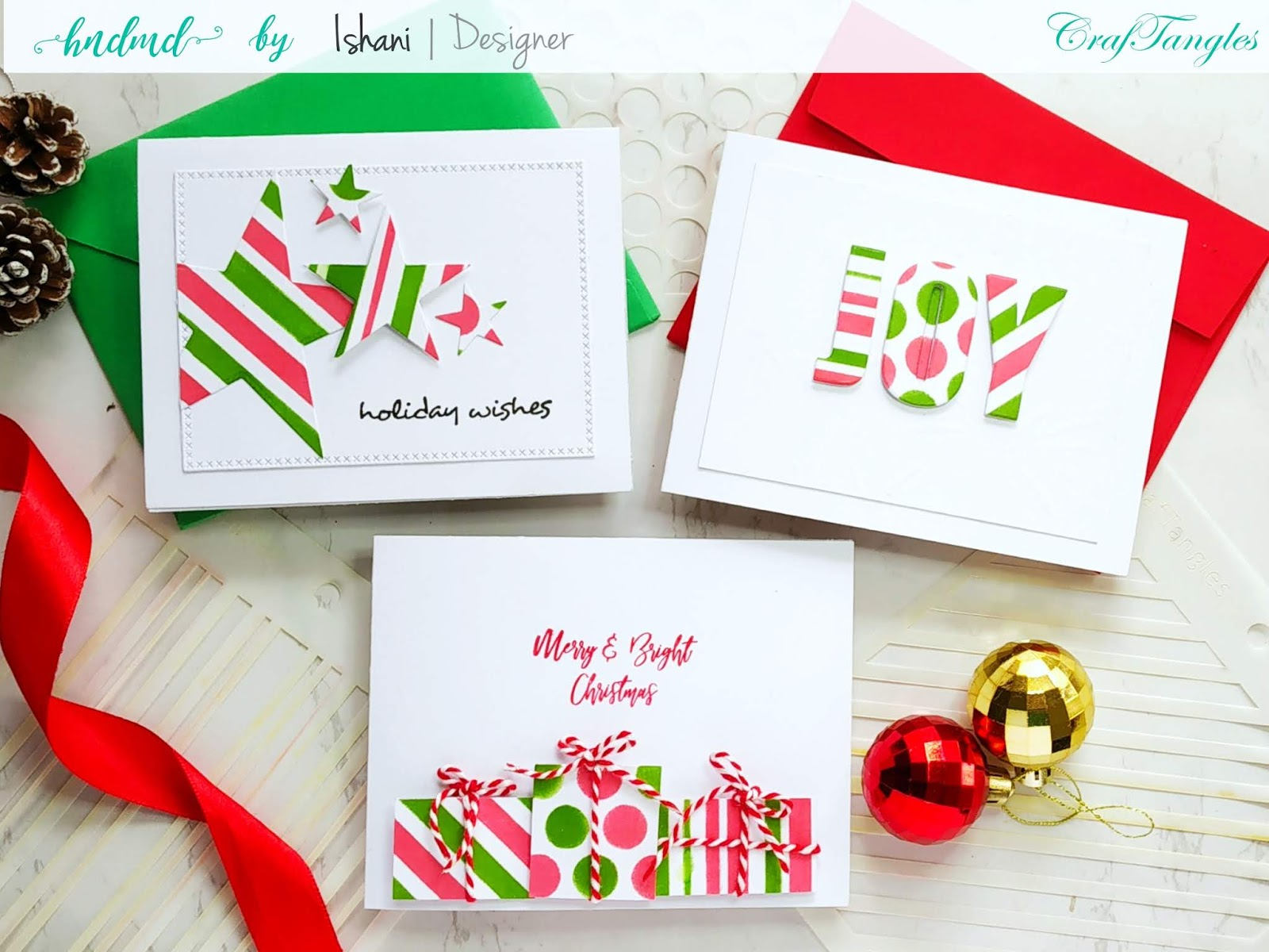 Patterned paper with stencils - Video tutorial 5