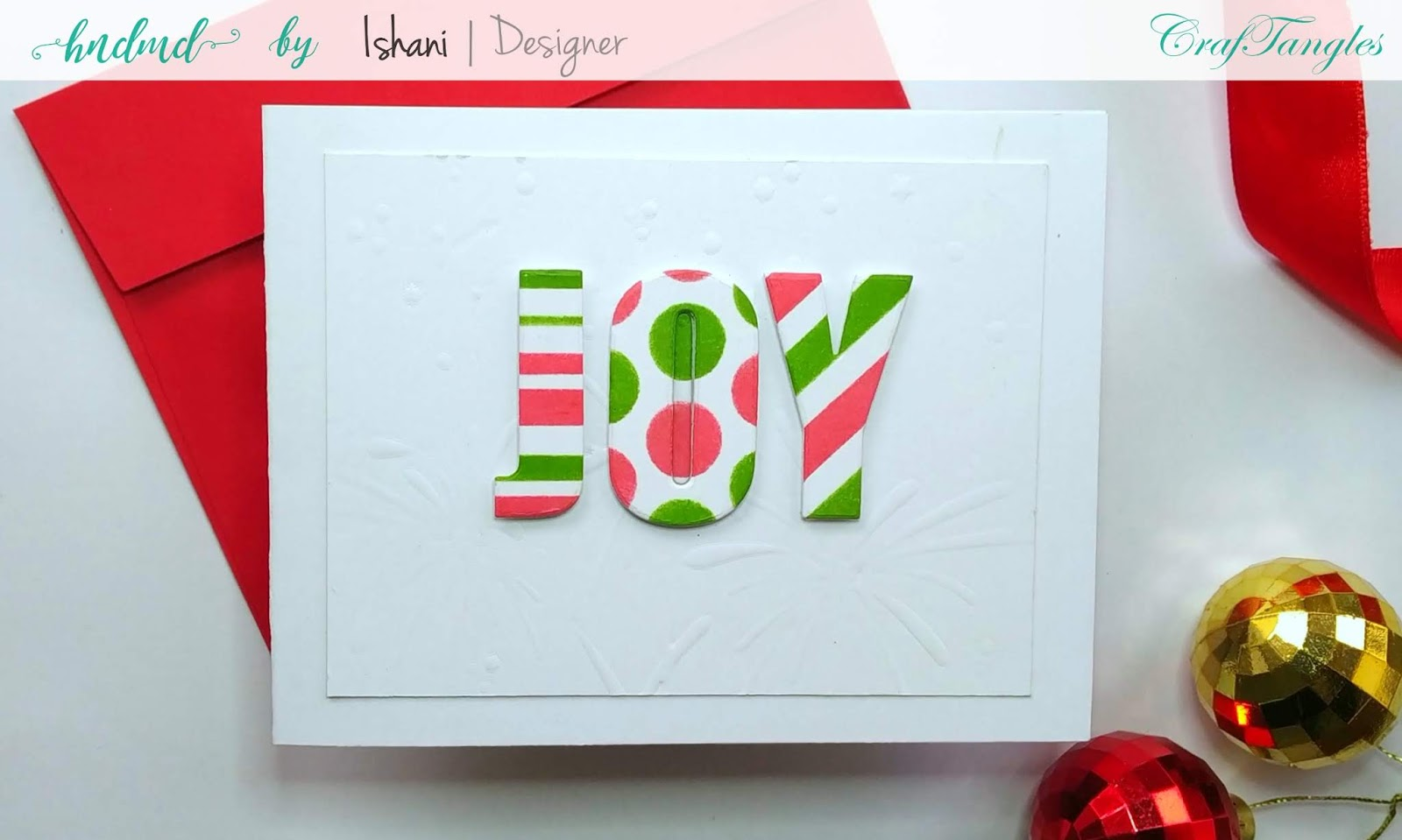Patterned paper with stencils - Video tutorial 2