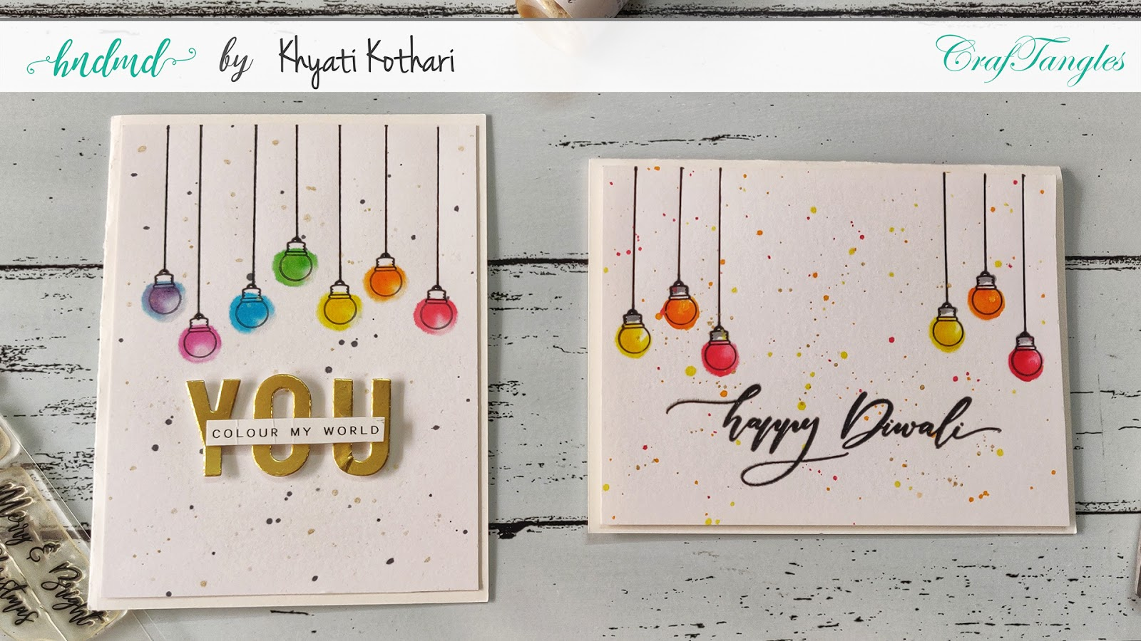 Quick cardmaking ideas with Video tutorial 4