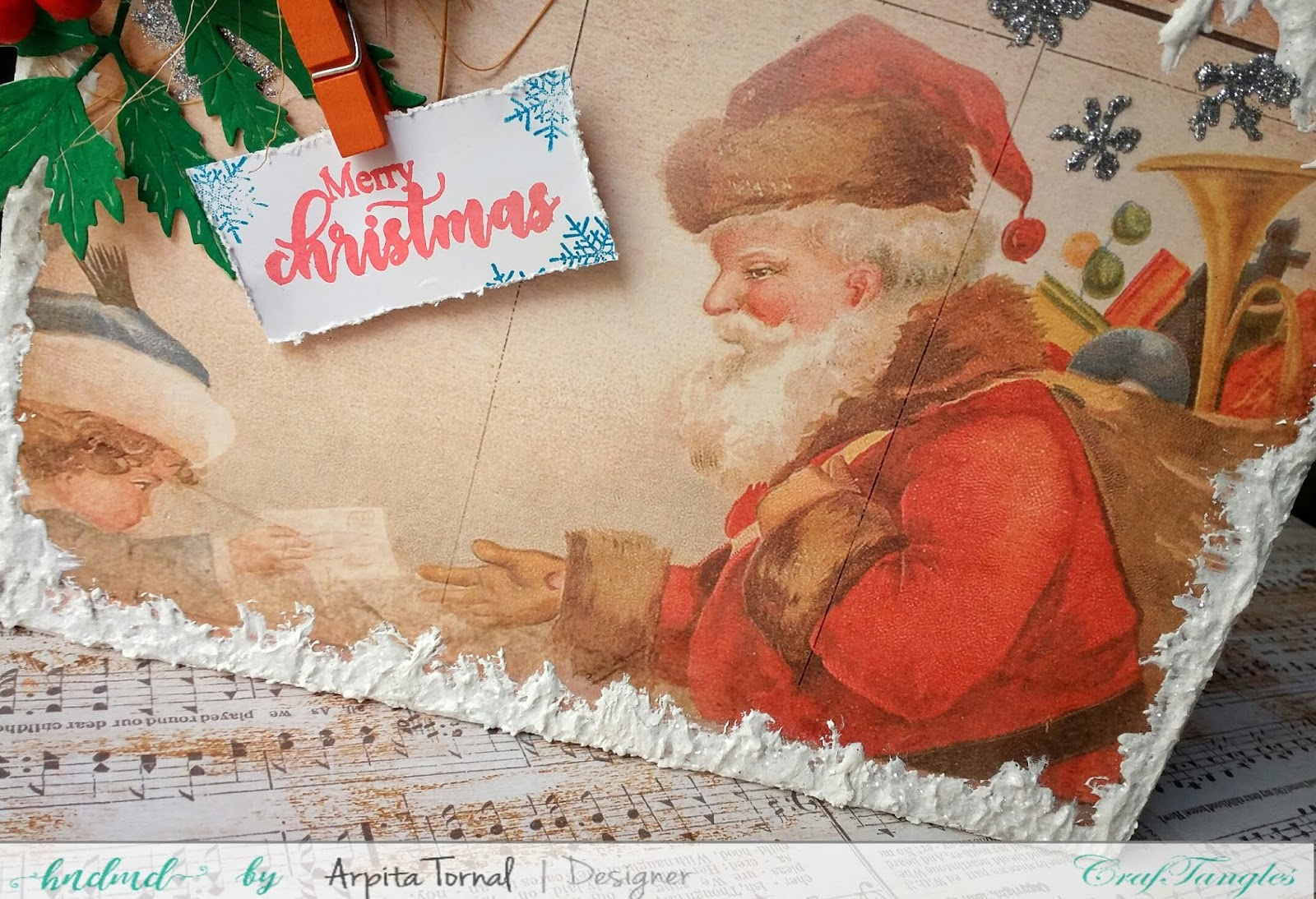 Its Christmas(Photo Frame)Monthly Challenge Inspiration Post 7