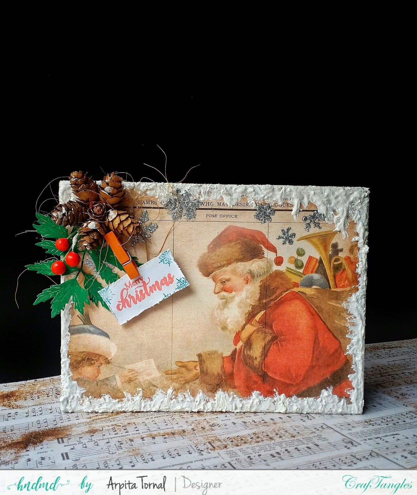 Its Christmas(Photo Frame)Monthly Challenge Inspiration Post 10
