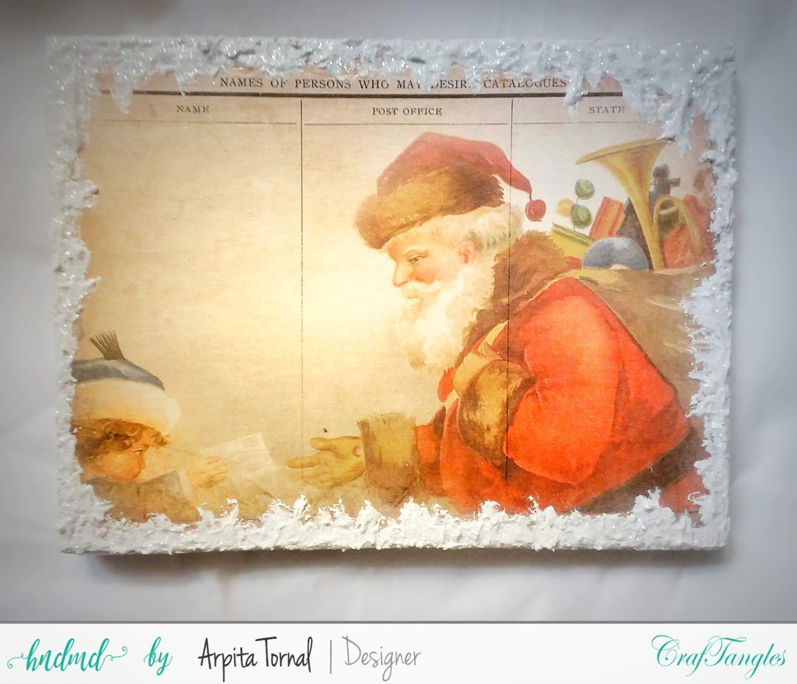 Its Christmas(Photo Frame)Monthly Challenge Inspiration Post 5