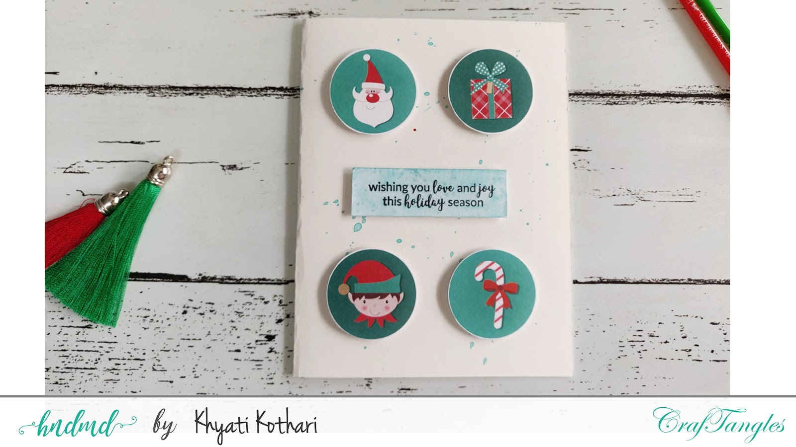 Quick and easy Christmas Cards with Video tutorial 5