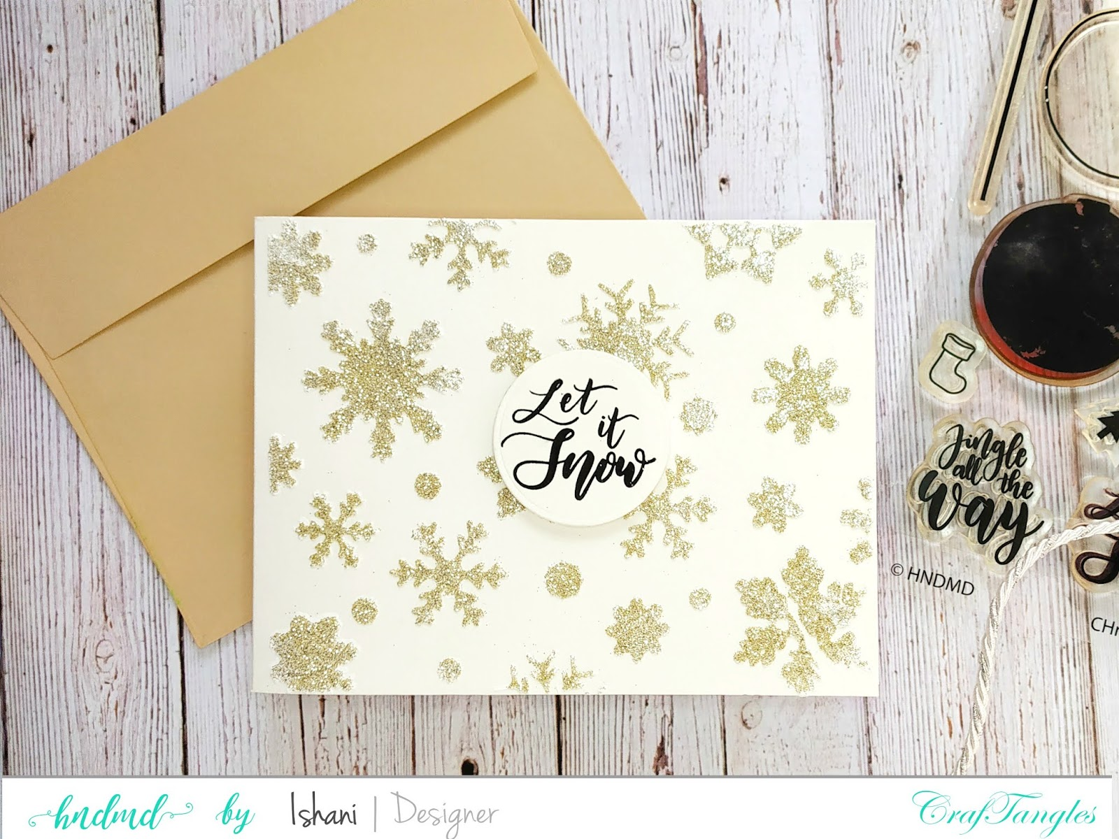 Christmas card ideas with one stamp set - Video Tutorial 2