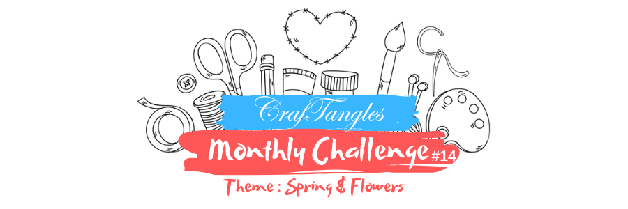 CrafTangles Monthly Challenge - February 2020 6