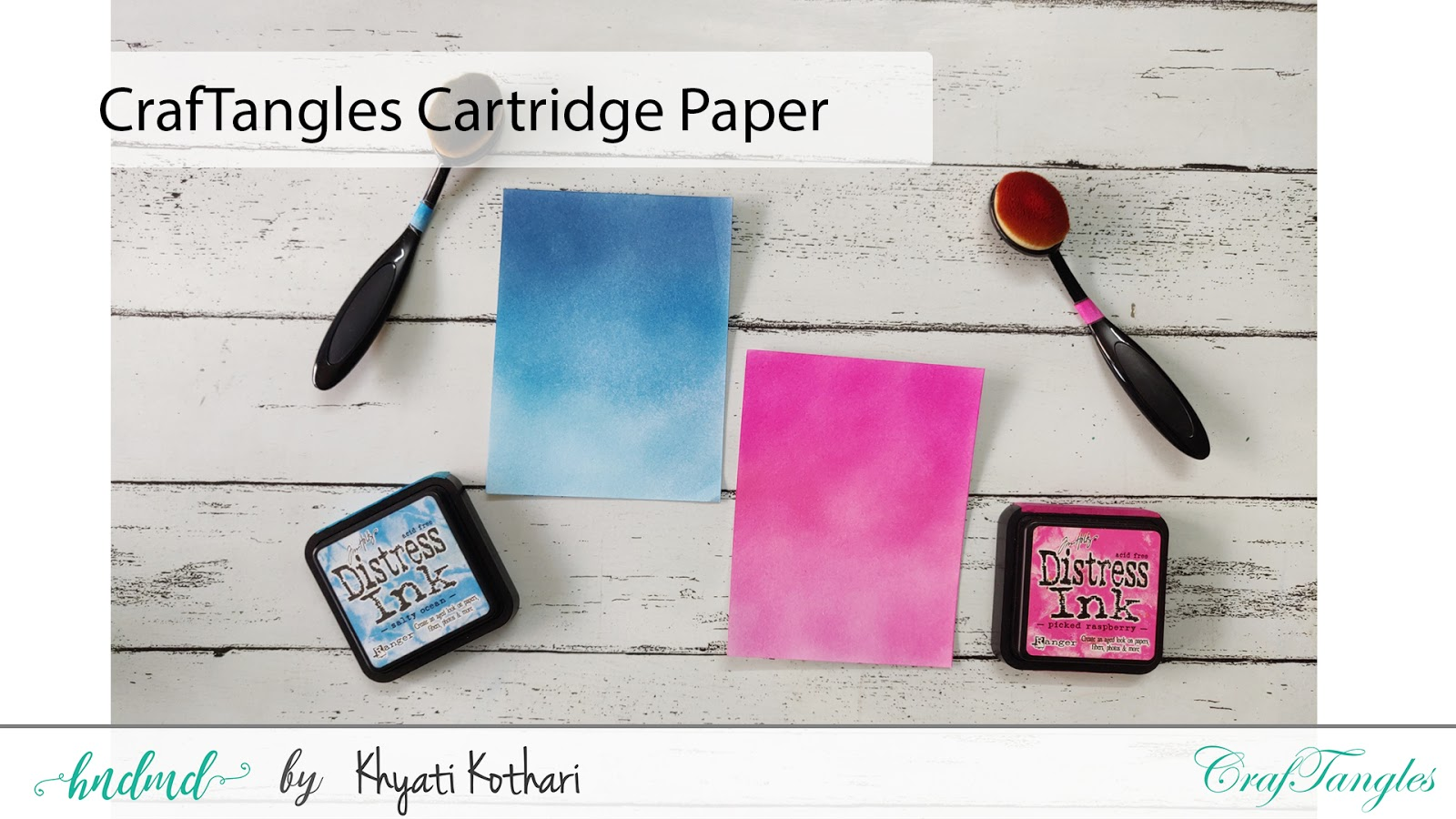 Introducing CrafTangles Ink blending brushes 6