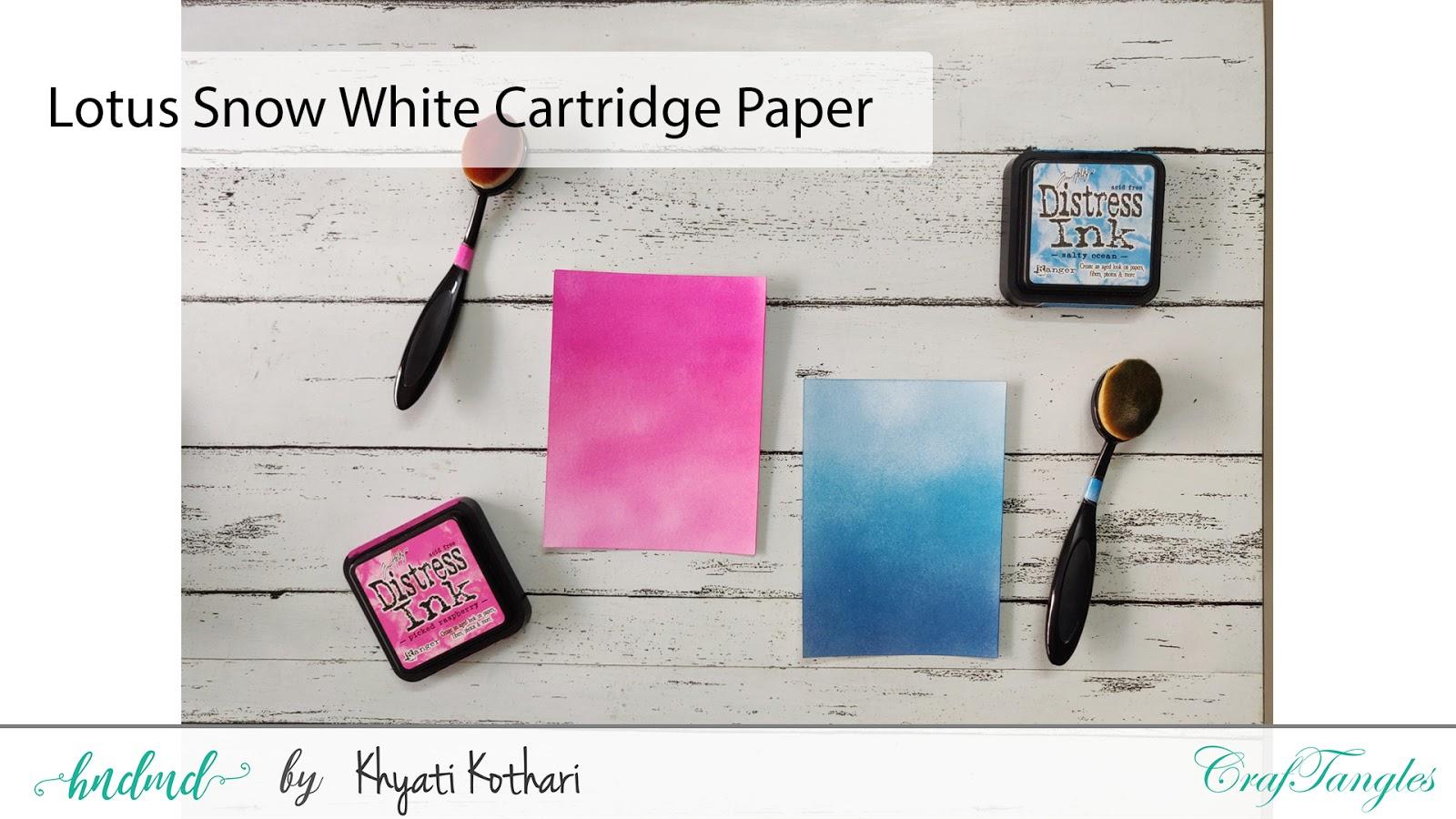 Introducing CrafTangles Ink blending brushes 14