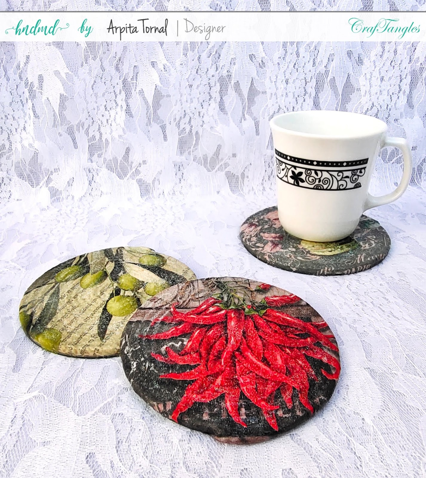 Glitter Decoupage or Crystal Decoupage DIY tutorial with video 4