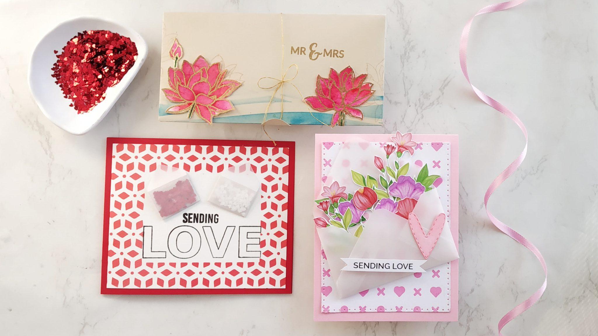 DIY envelopes - Send love in unique envelopes Video tutorial 1
