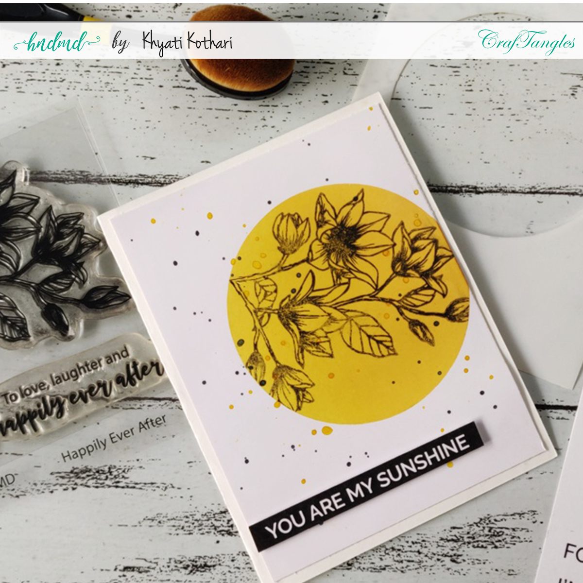 What is Spotlight Stamping in Card making? 1