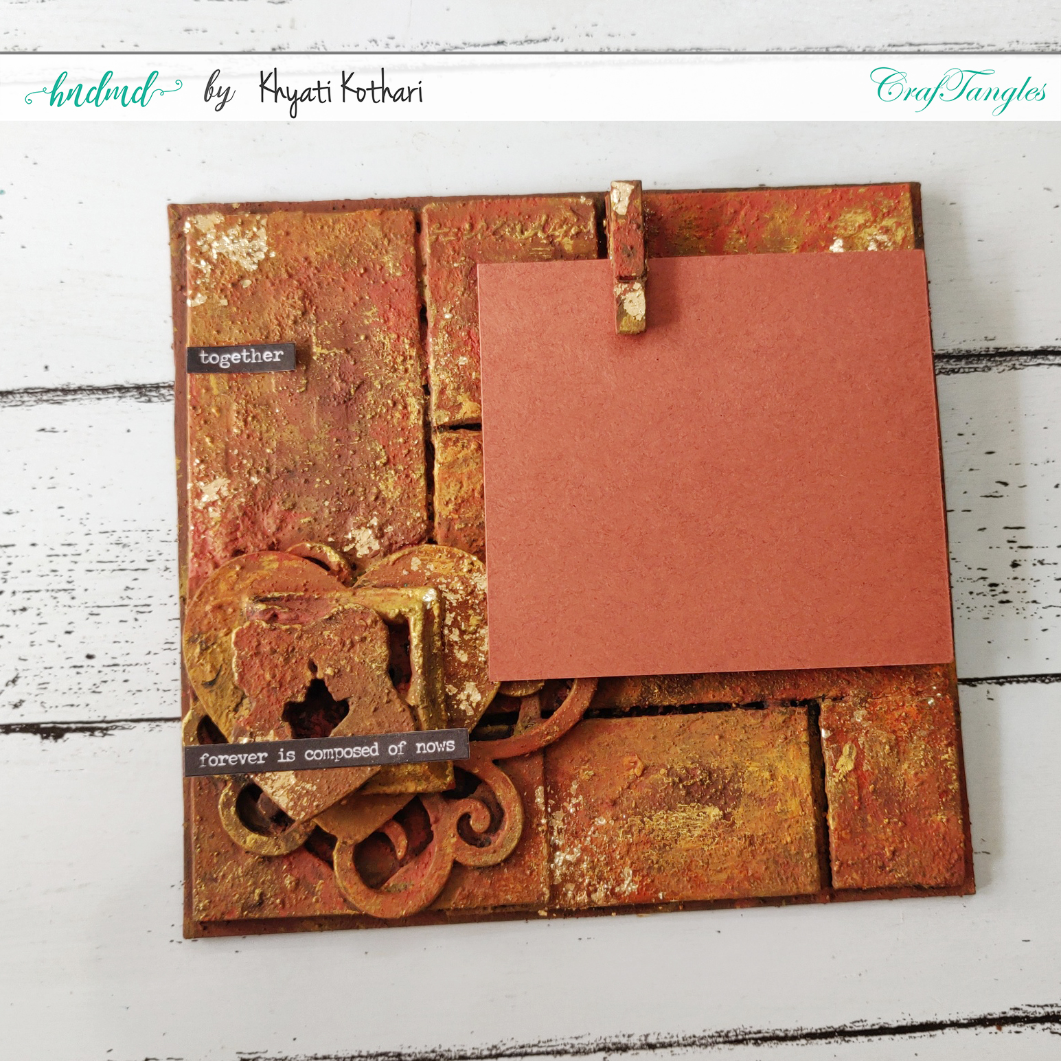 How to make a simple Altered Frame from Chipboard 4