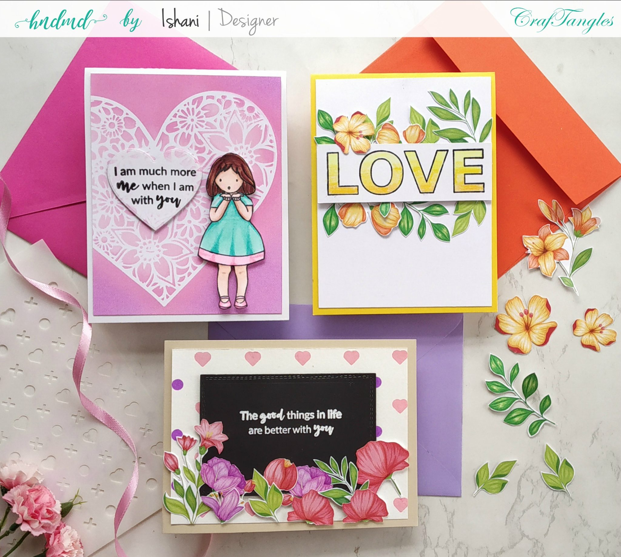 Valentine's day cards by Ishani