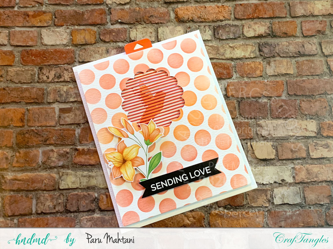 3 easy to make animated spring flower cards 2