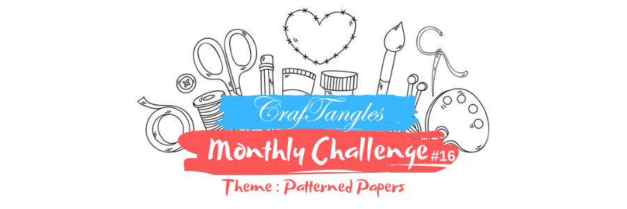 CrafTangles Monthly Challenge 2020 – April edition 5