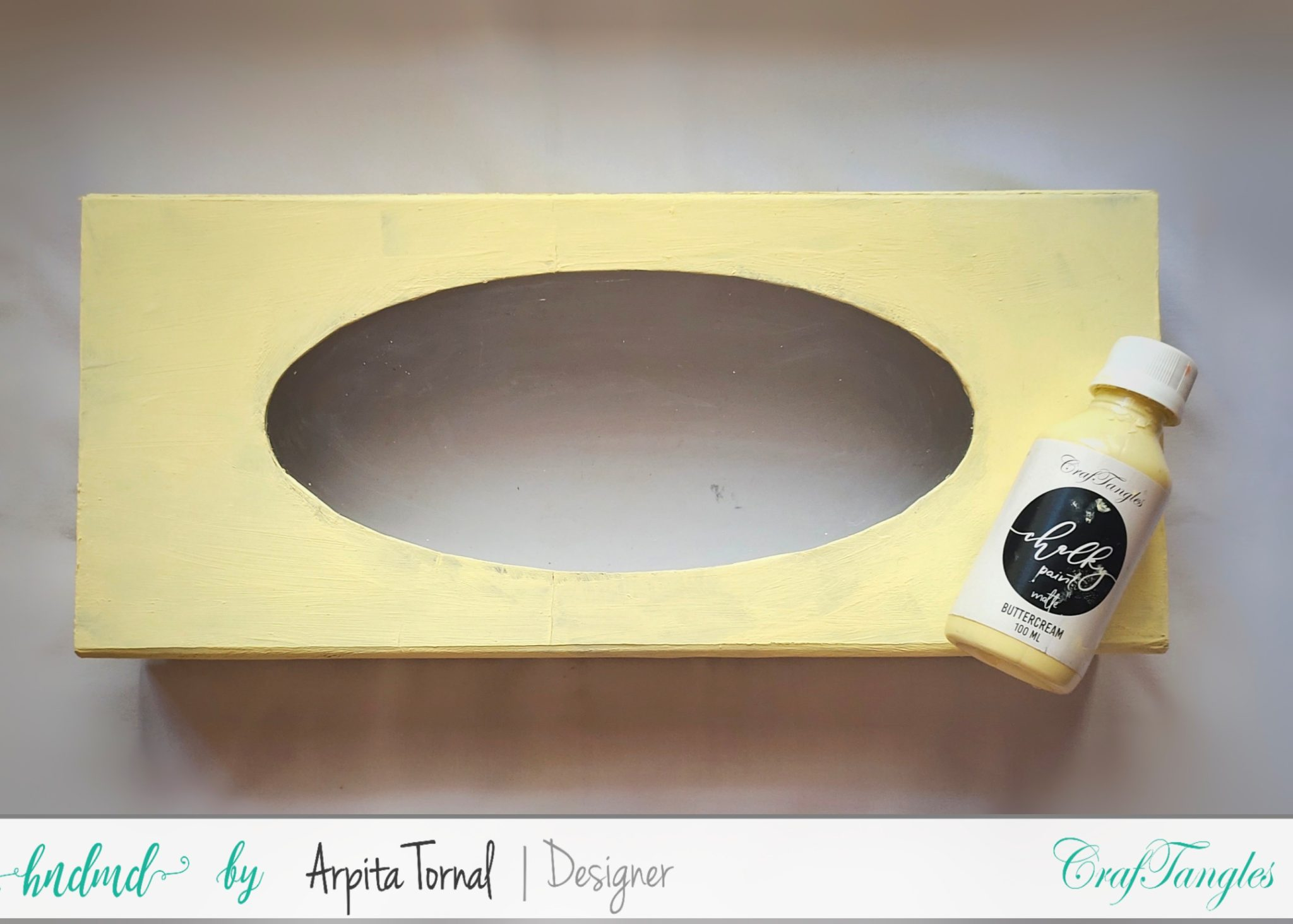 Decoupage tutorial step by step Faux Wood Background 1