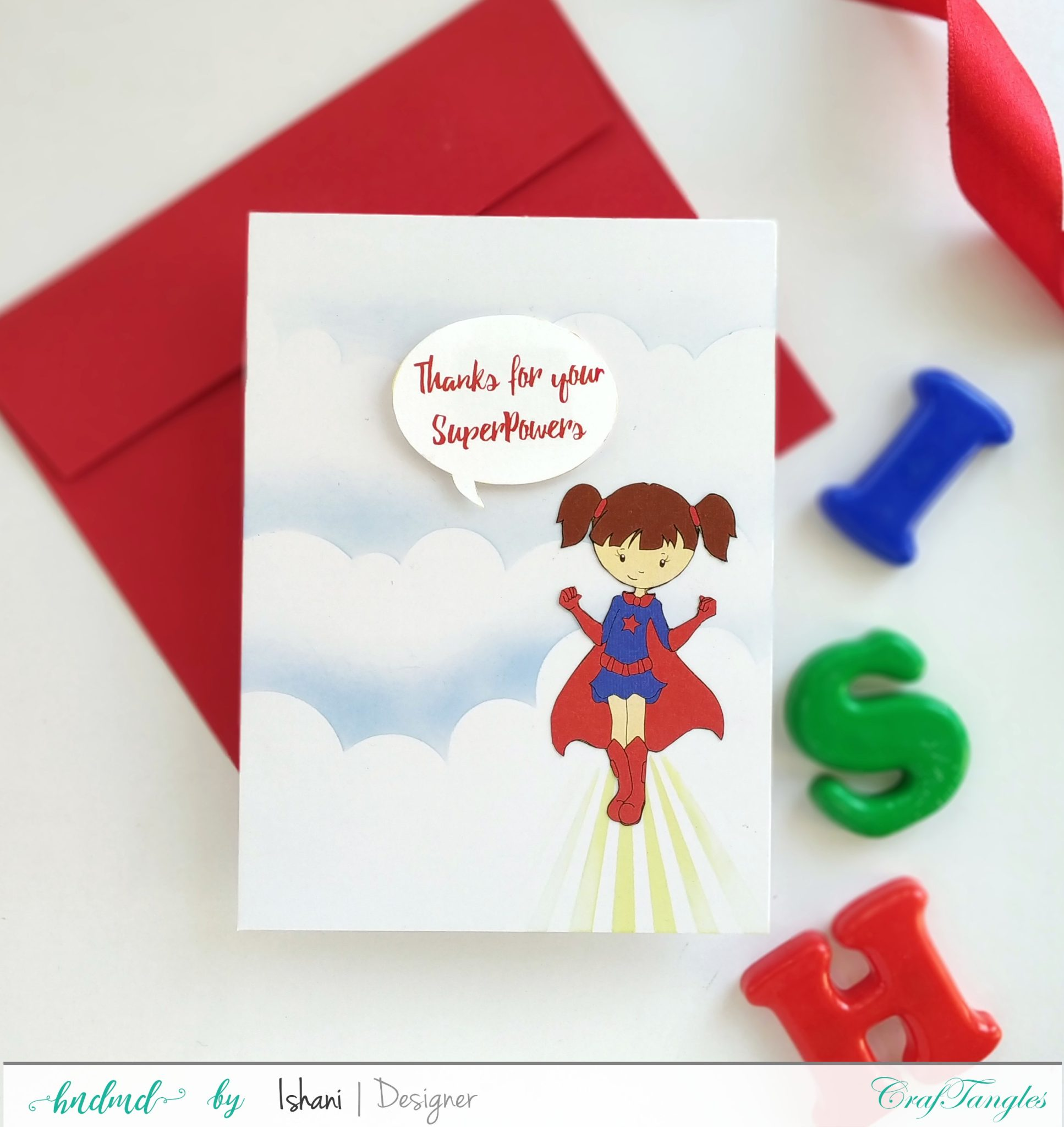 3 Quick Superhero cards - with Video tutorial 5