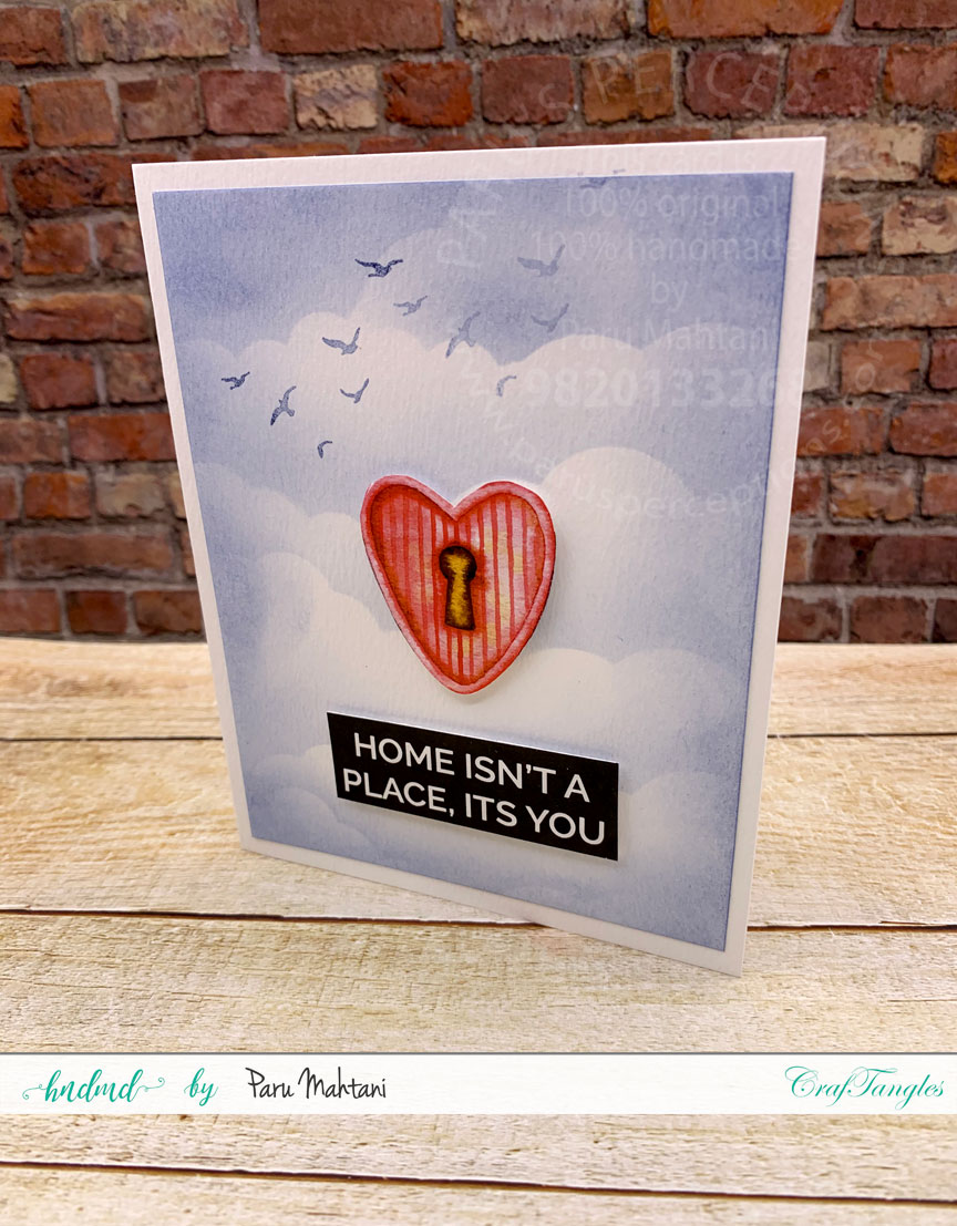 Using patterned paper elements and 1 background to make 3 quick cards. 3