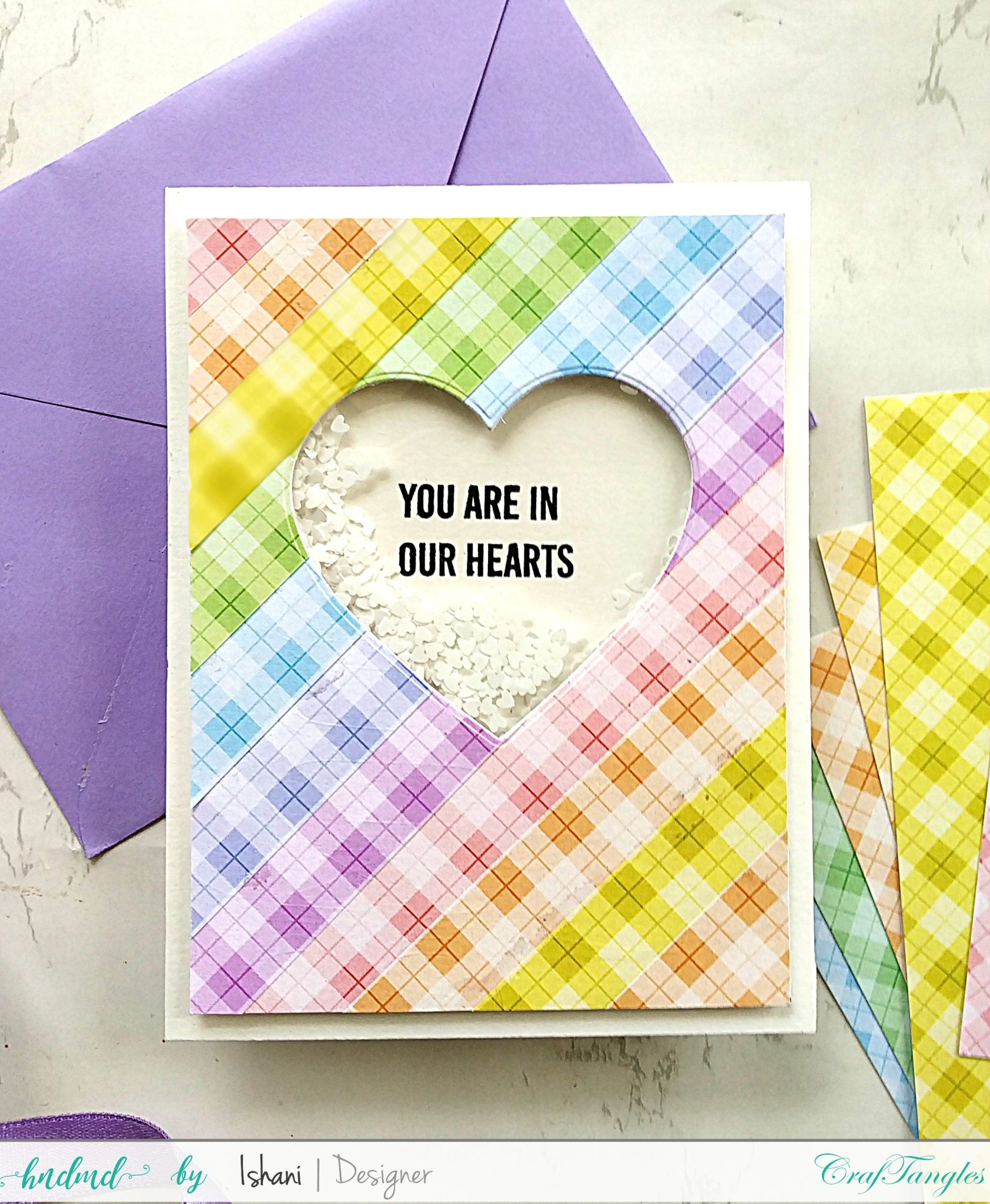 3 Easy Cards with Plaid Pattern paper 5