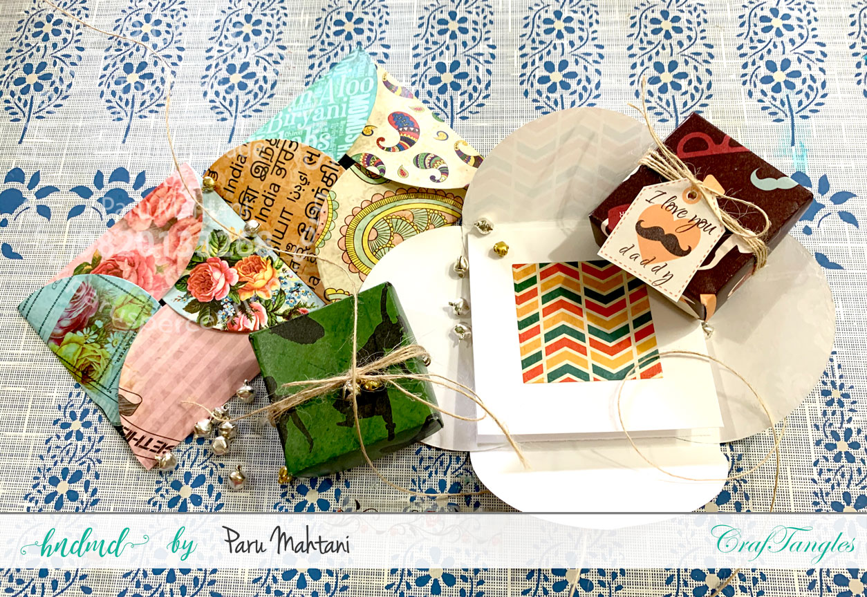 Easy Origami boxes and envelopes 1