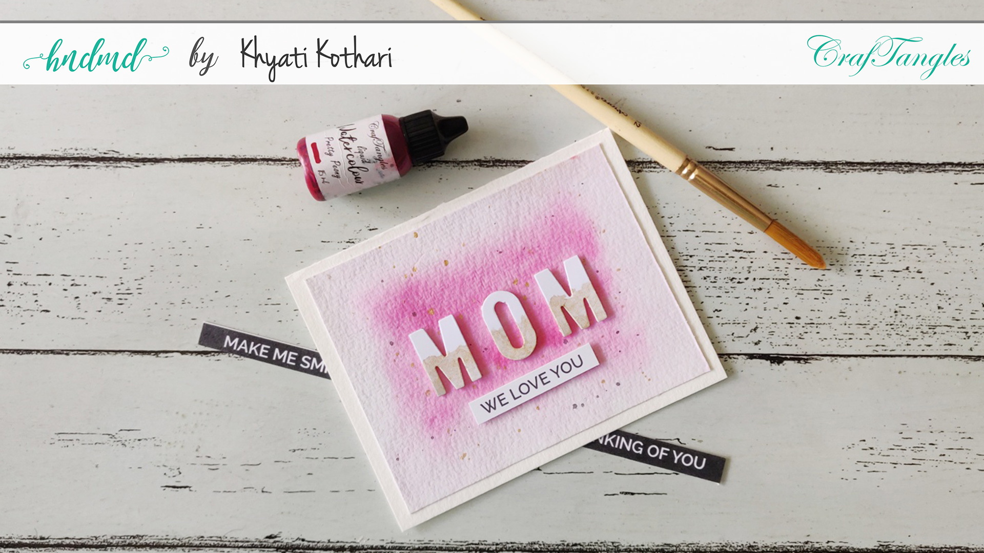 CAS Mothers Day Card 2020 - Cardmaking idea 2