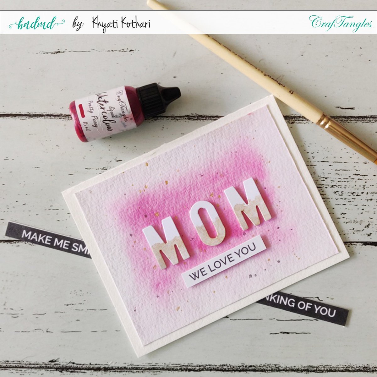 CAS Mothers Day Card 2020 - Cardmaking idea 3