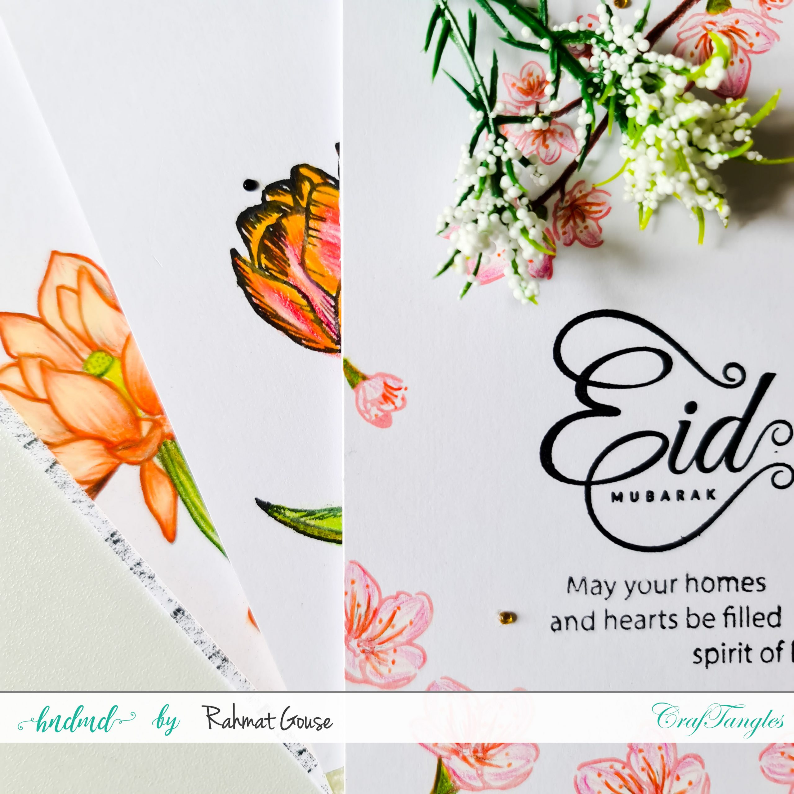 Floral Eid Cards 3