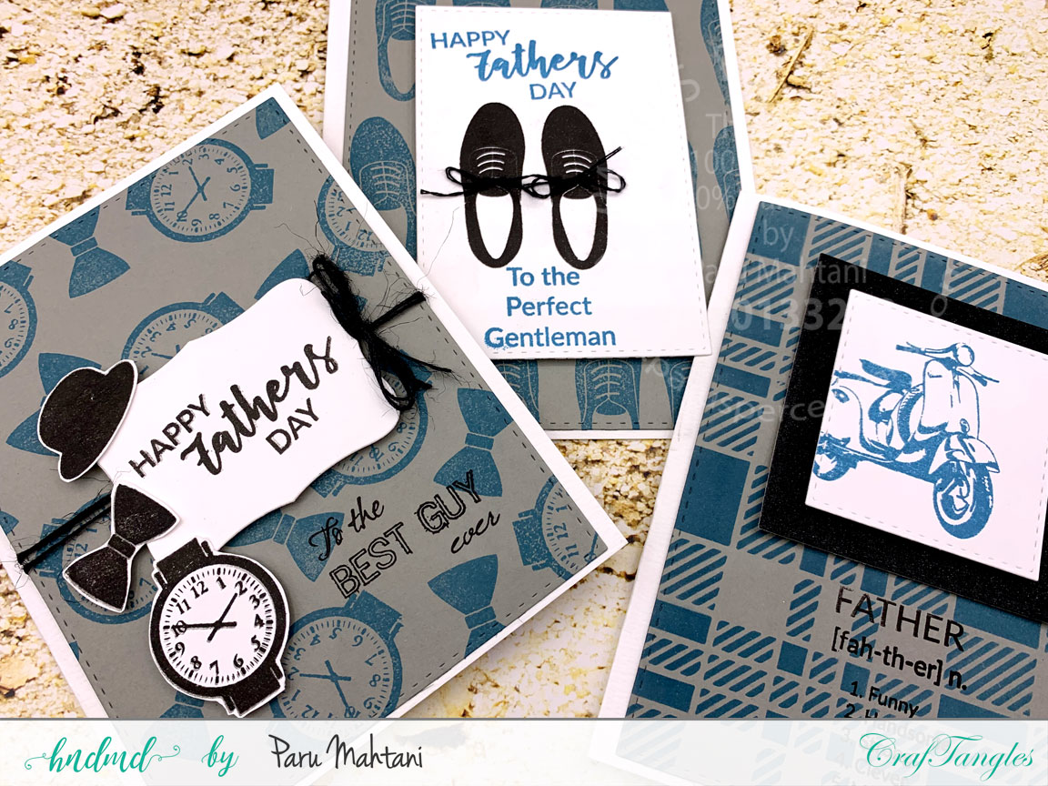 3 Quick and Easy Father's Day cards 2