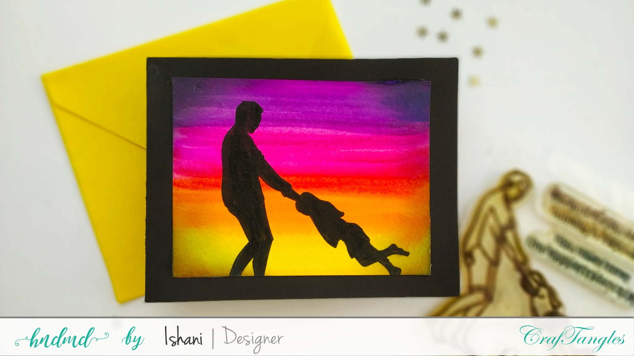 Stretch your stamps - 3 Father's day cards 3
