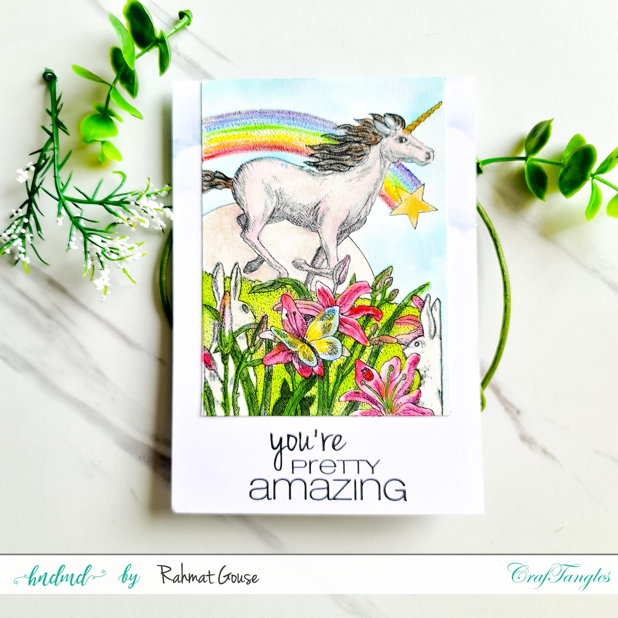 Fun Cards with Liquid Watercolors 3