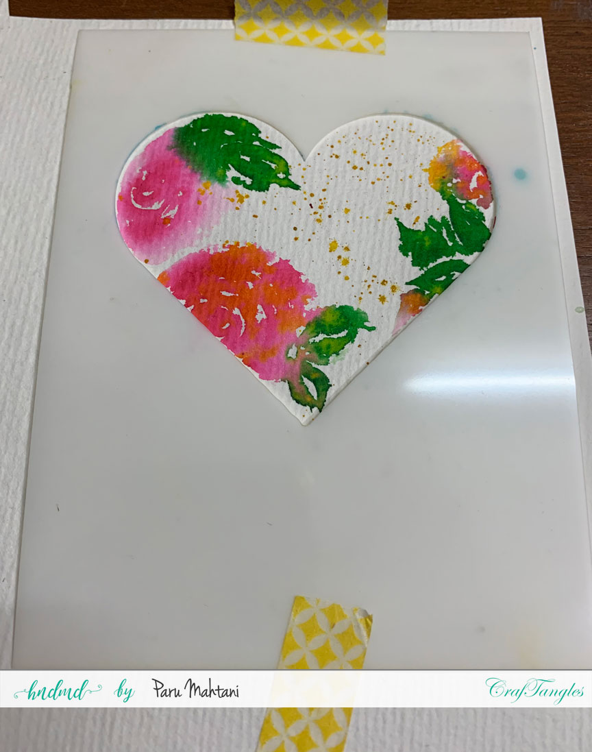 3 quick and easy Watercolour cards. 7