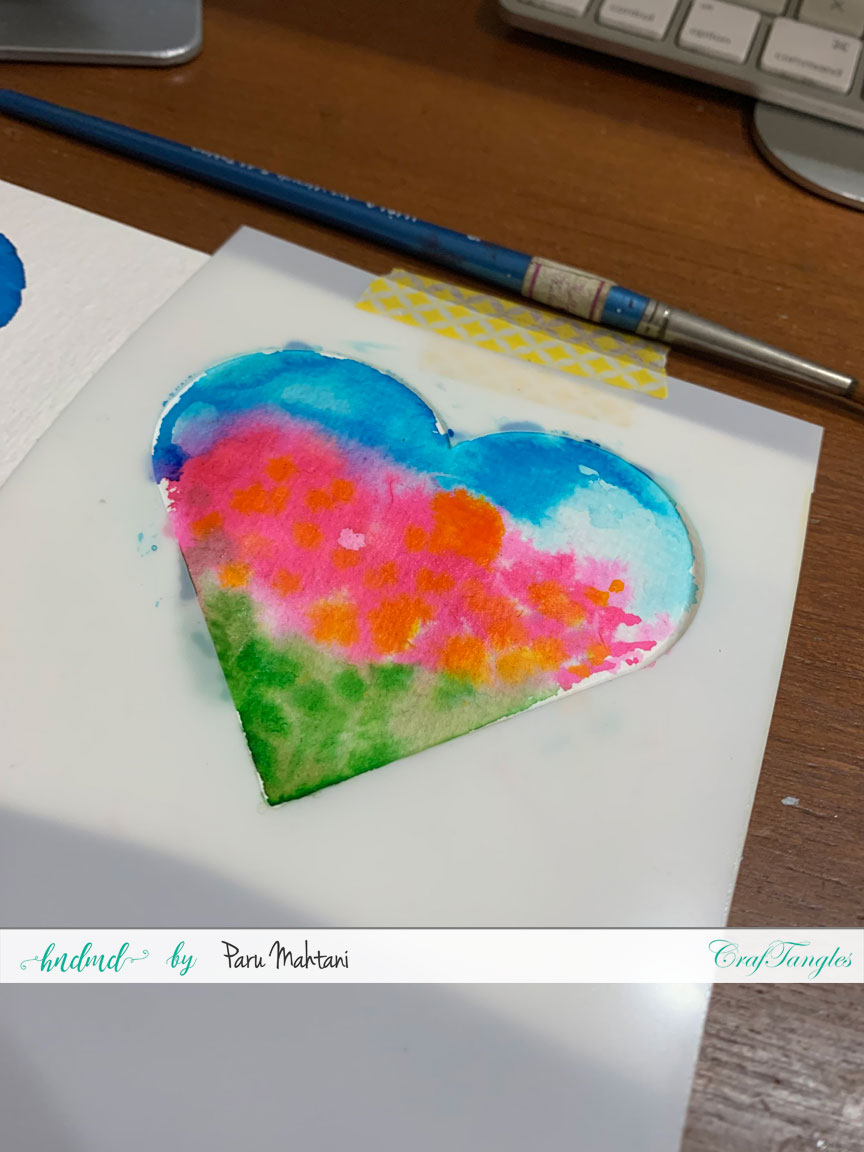 3 quick and easy Watercolour cards. 4