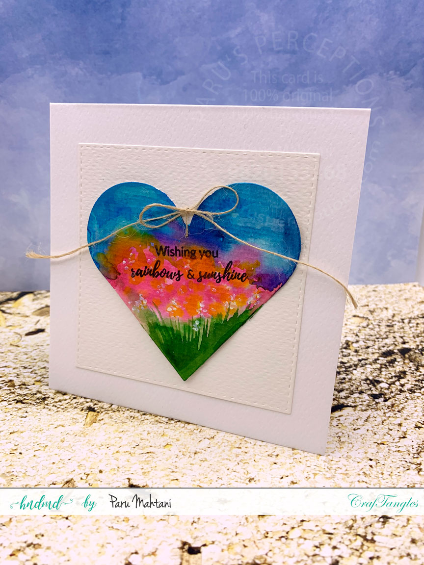 3 quick and easy Watercolour cards. 6