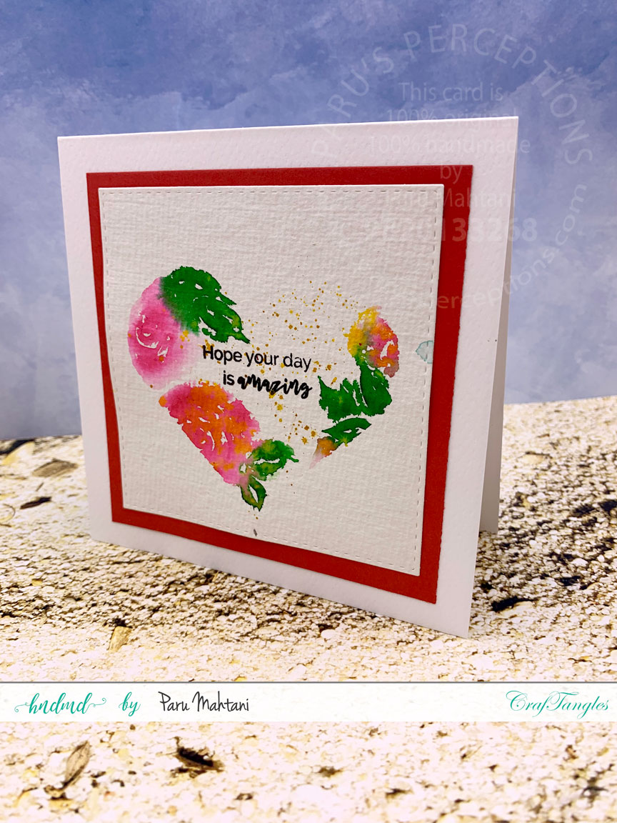 3 quick and easy Watercolour cards. 8