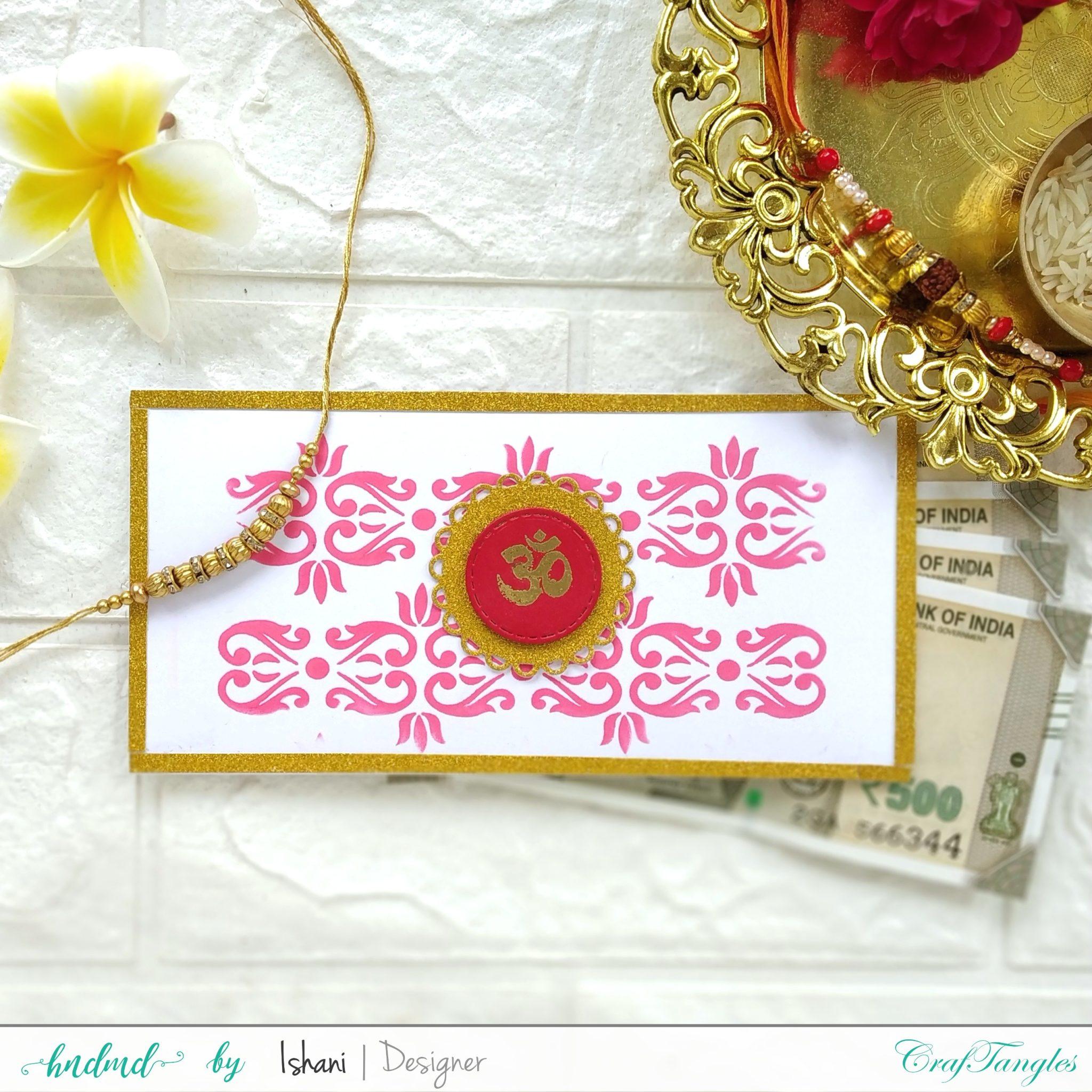 Beautiful Indian Festival crafts - Video Tutorial 5