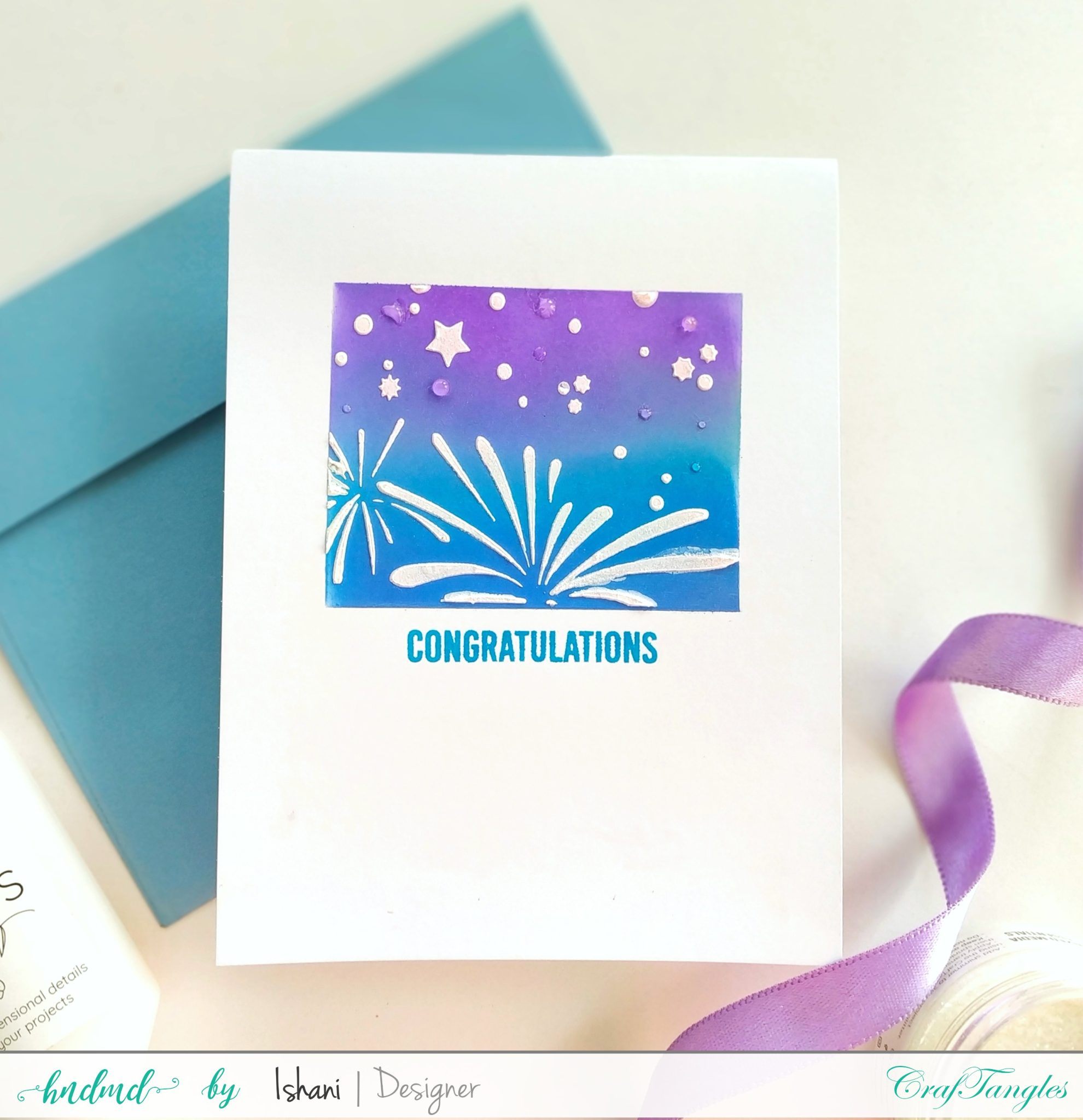 Layer those Stencils for Clean and simple cards 6