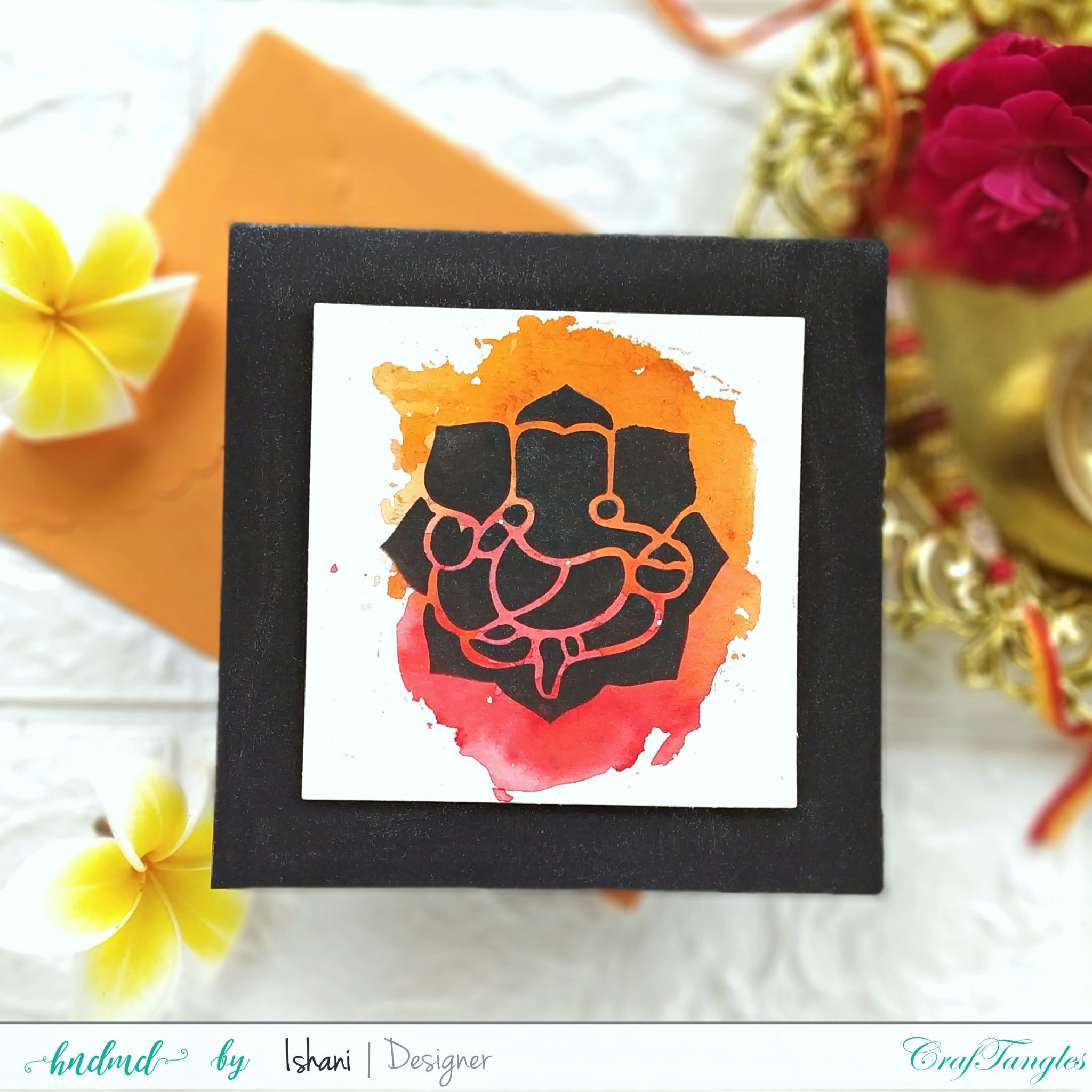 Beautiful Indian Festival crafts - Video Tutorial 1