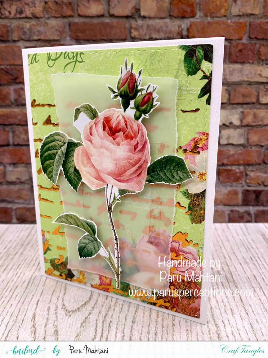 3 fun cards using texture paste, stencils and patterned paper 5