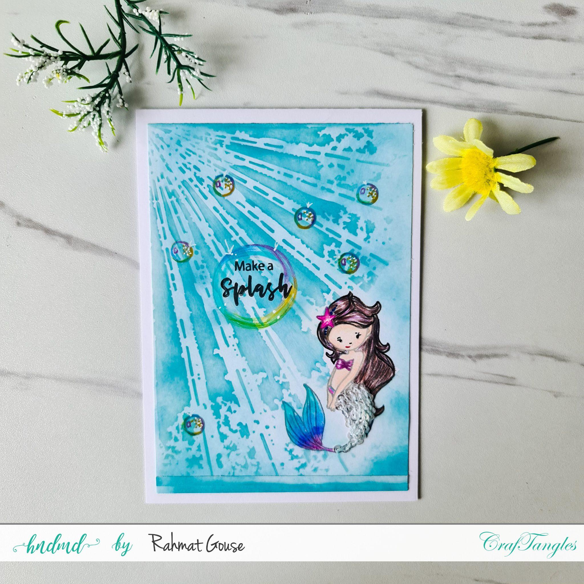 Fantastic bubbles and 1 beautiful mermaid 3