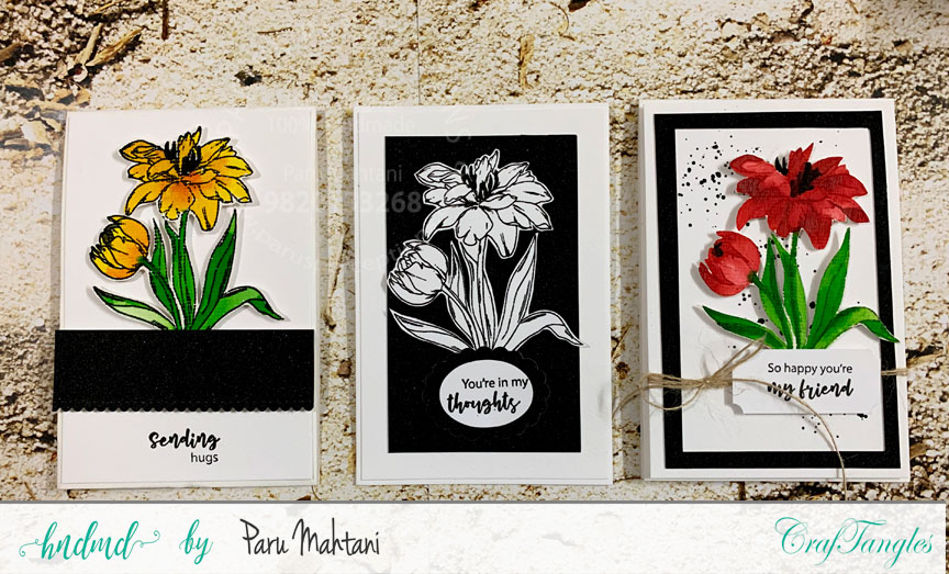 3 quick cards using 1 new stamp set! 2