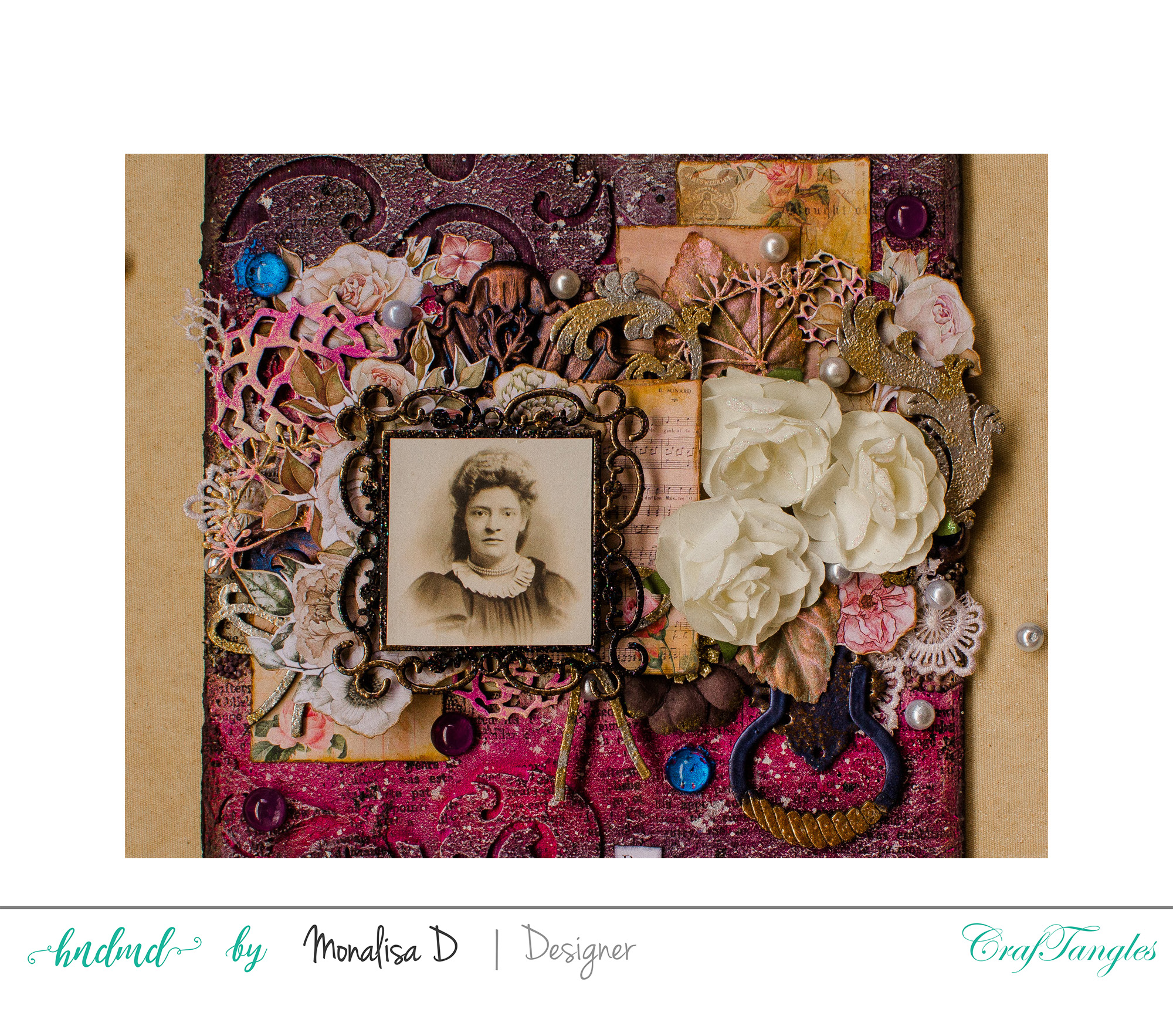 Indisputable Femininity - Mixed Media Layout 3