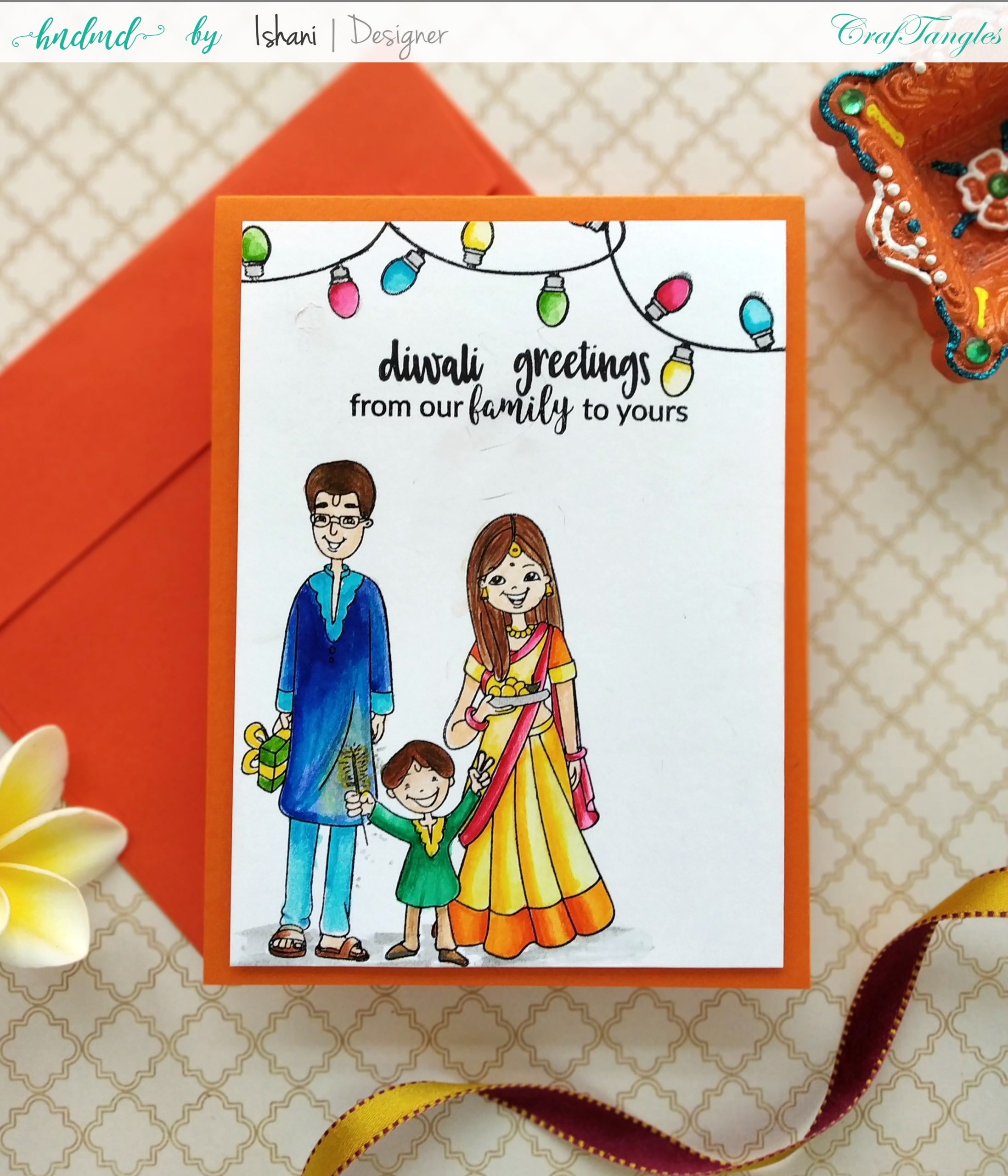 3 Bright and Happy Diwali Cards 7