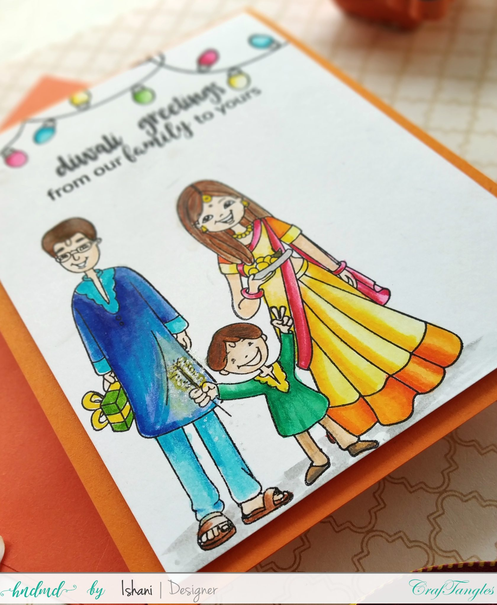 3 Bright and Happy Diwali Cards 10